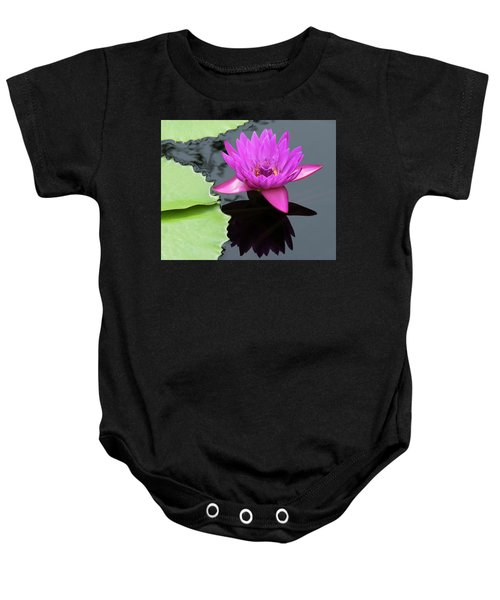 Purple Majesty Baby Onesie
