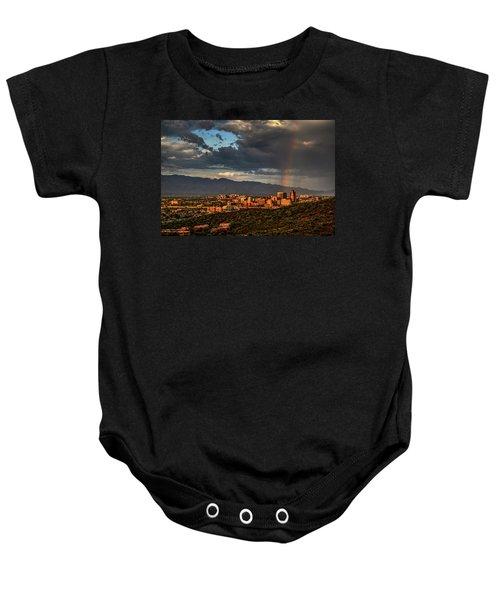 Rainbow Over Tucson Baby Onesie