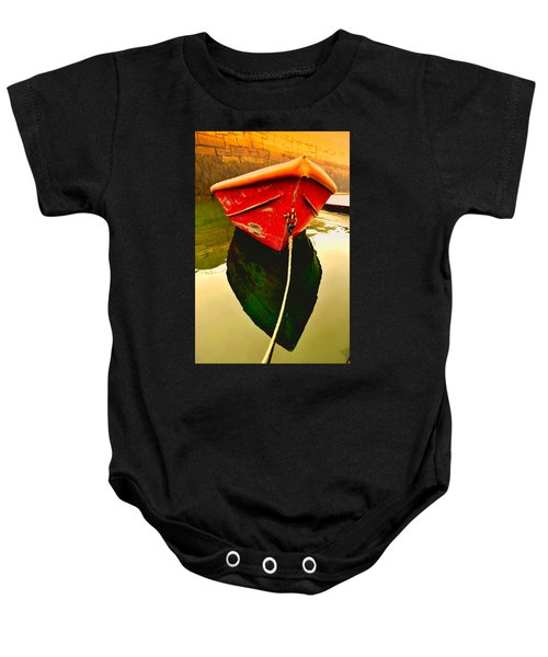 Red Boat Baby Onesie