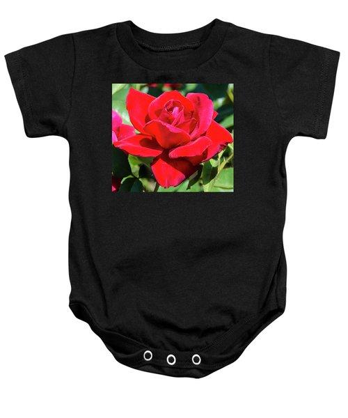 Red Velvet Baby Onesie