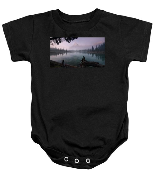 Rising From The Fog Baby Onesie