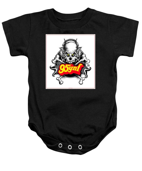Rock 'n Roll Pirates Baby Onesie