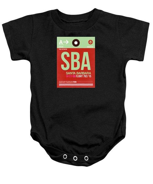 Sba Santa Barbara Luggage Tag II Baby Onesie
