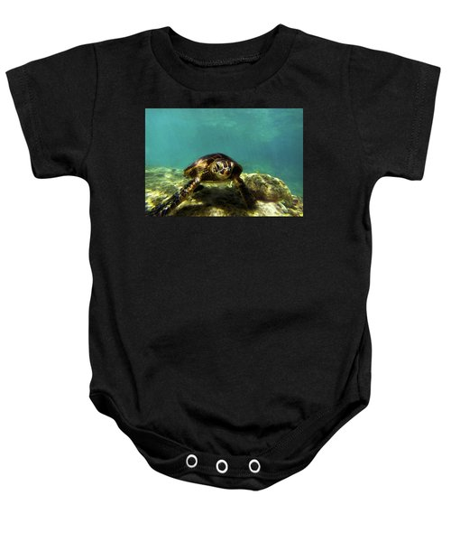 Sea Turtle  Baby Onesie