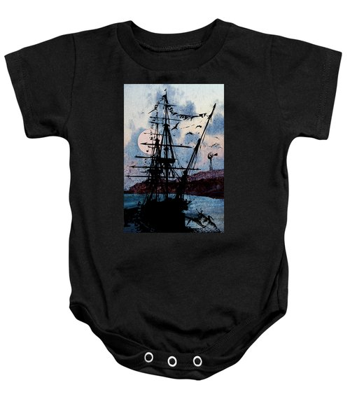 Seafarer Baby Onesie