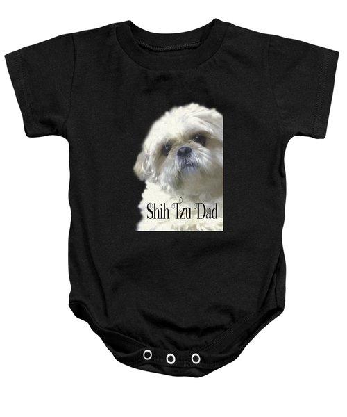 Shih Tzu For Dad Baby Onesie