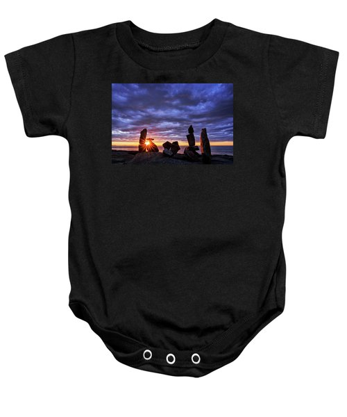 Standing Stone 1 Halibut Pt.  Baby Onesie