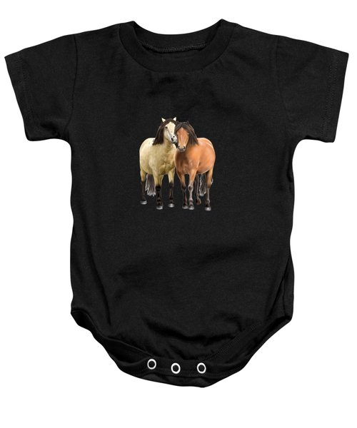 Standing Together Baby Onesie