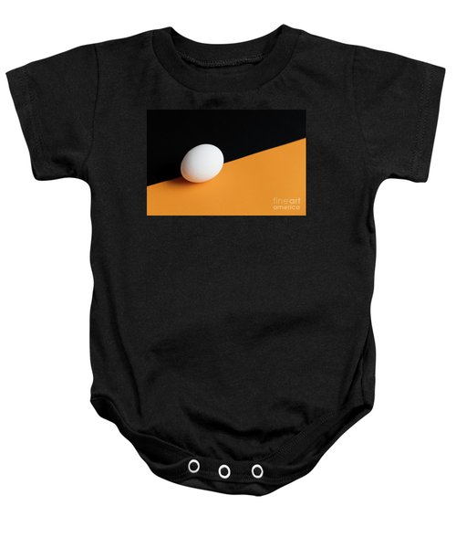 Still Life With Egg Baby Onesie