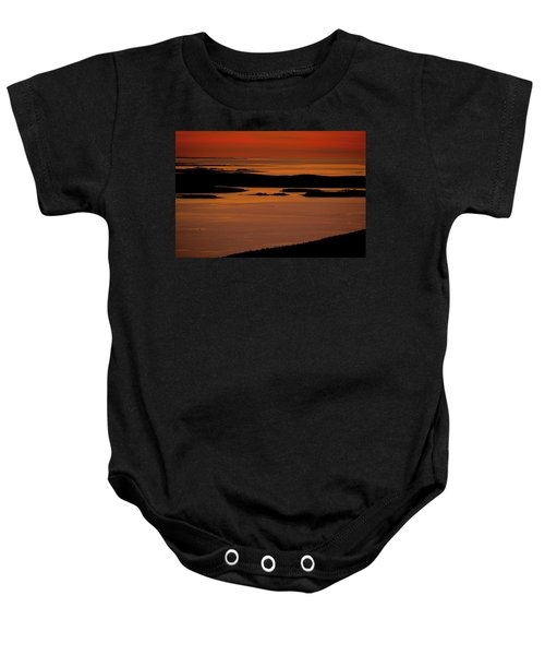 Sunrise Cadillac Mountain Baby Onesie