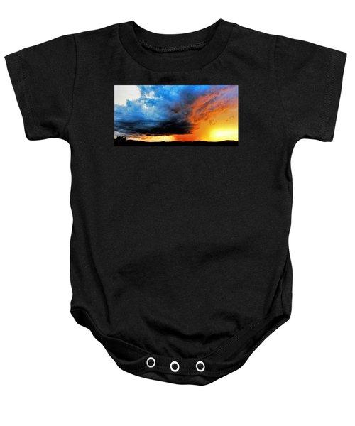 Sunset Storm Baby Onesie