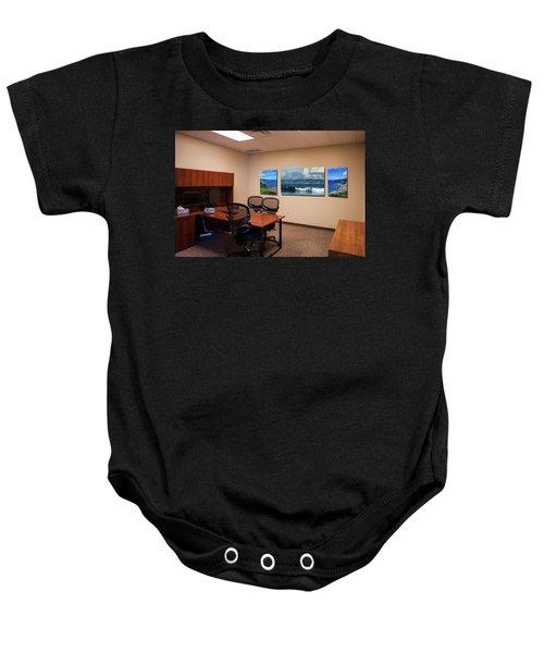 Tamara Office West Wall Baby Onesie