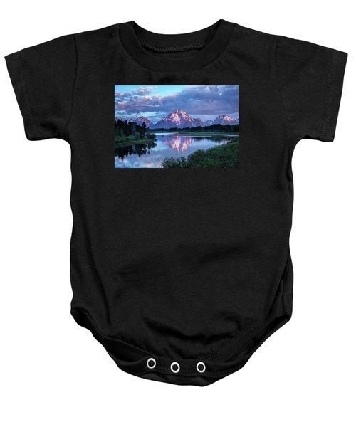 Teton Oxbow Morning 9087 Baby Onesie