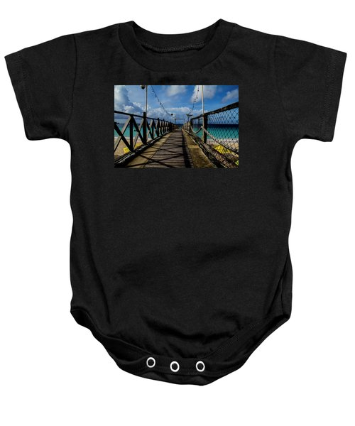 The Pier #3 Baby Onesie