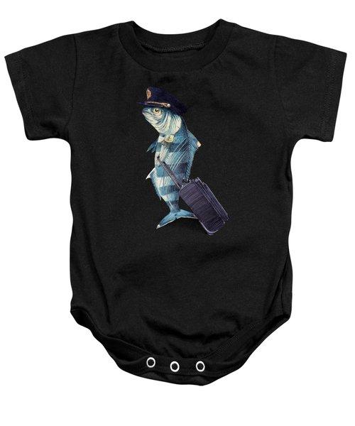 The Pilot Baby Onesie