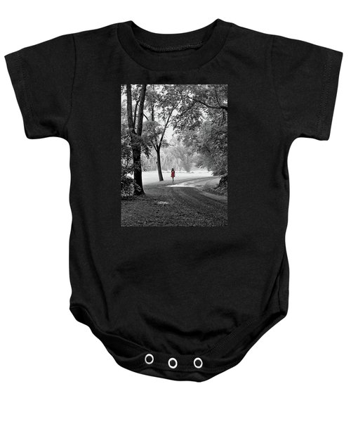 The Red Dress Baby Onesie