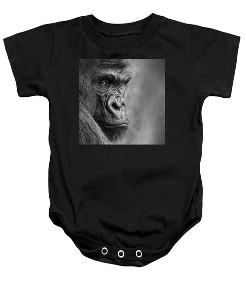 The Serious One Baby Onesie