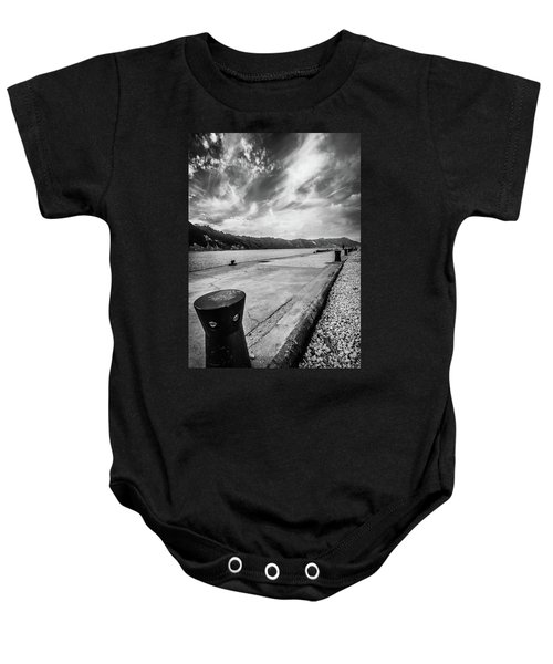 The Winter Sea #3 Baby Onesie