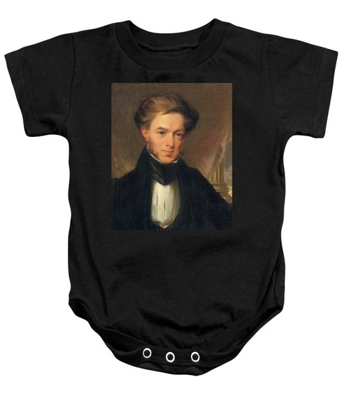 Portrait Of Thomas Ustick Walter, 1835 Baby Onesie