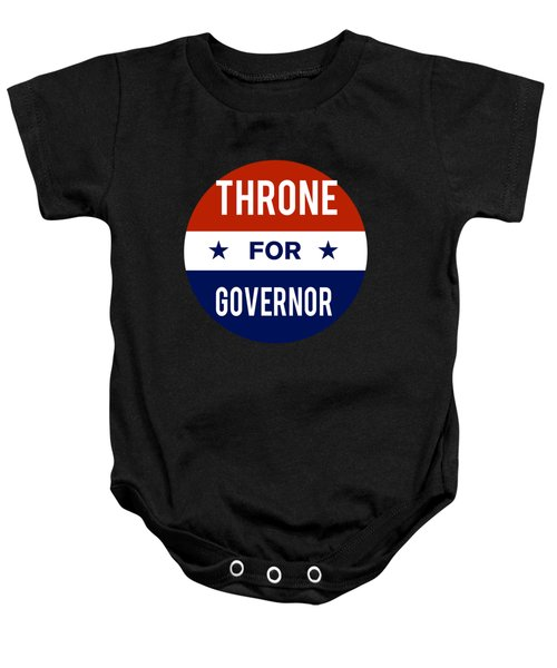 Throne For Governor 2018 Baby Onesie