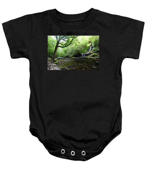 Tom Branch Falls On Deep Creek Baby Onesie