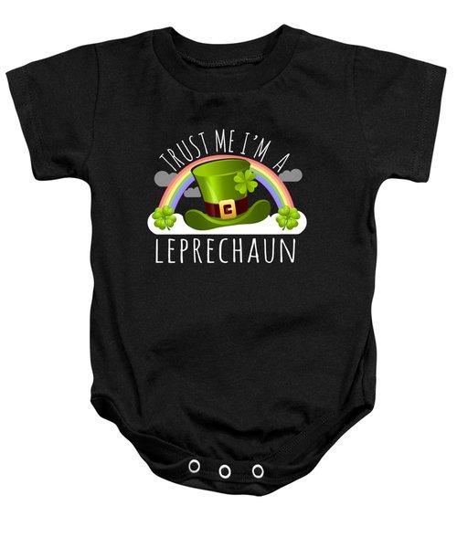 Trust Me Im A Leprechaun Baby Onesie