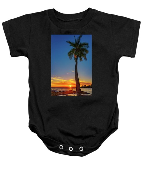 Tuesday 13th Sunset Baby Onesie
