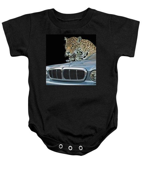 Two Jaguars 2 Baby Onesie