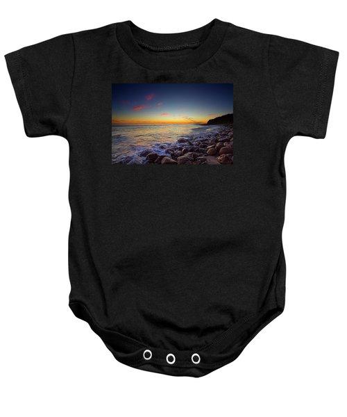 Ventura Sunset Baby Onesie