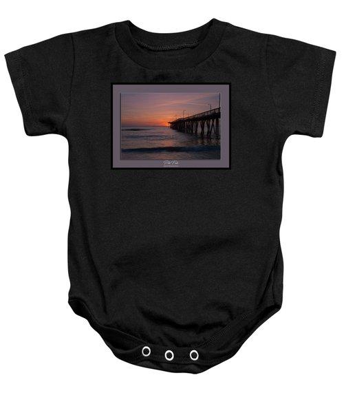 Virginia Beach Sunrise Baby Onesie