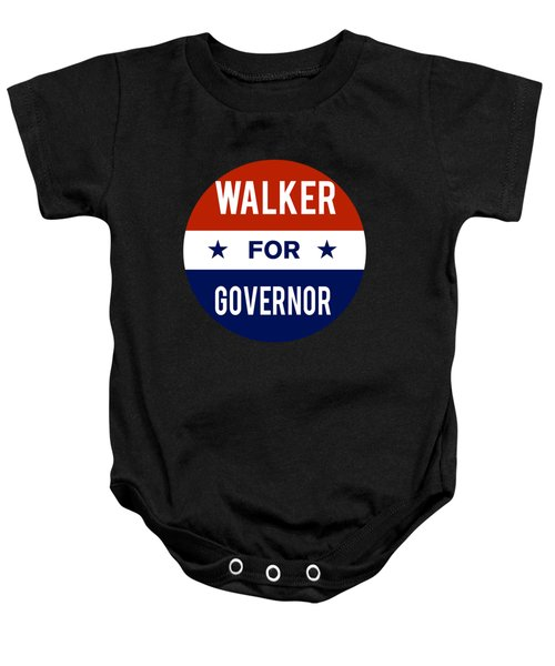 Walker For Governor 2018 Baby Onesie