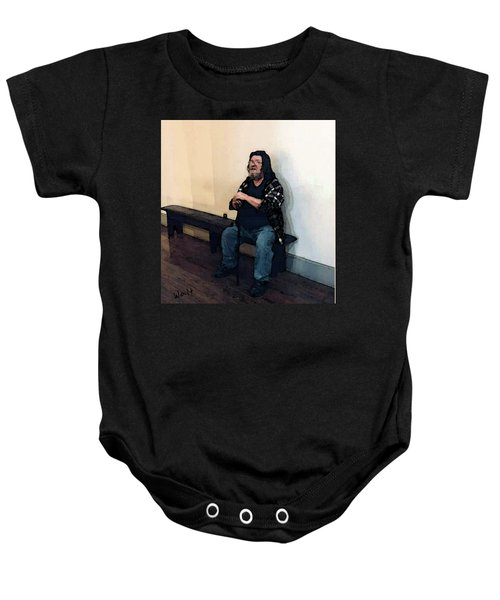 Walt Sitting Baby Onesie