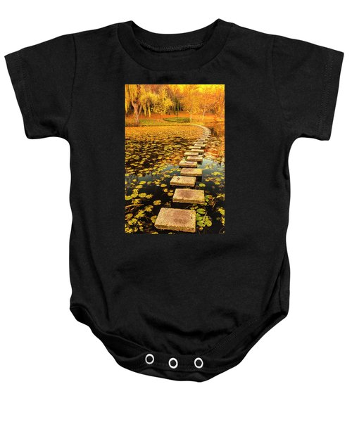 Way In The Lake Baby Onesie