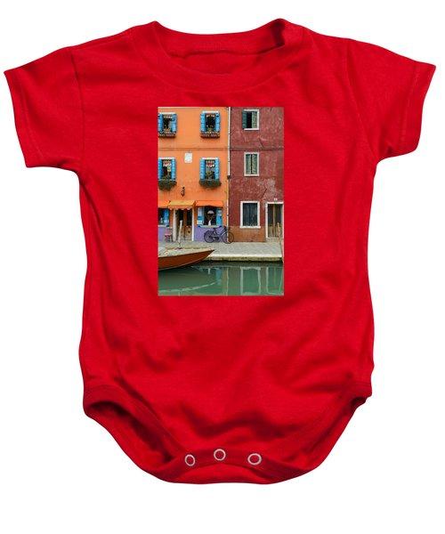 Burano Italy Baby Onesie