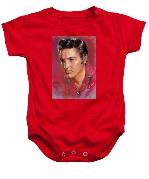 Elvis Presley Baby Onesie by Viola El