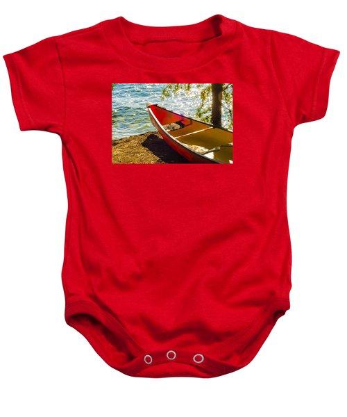 Kayak By The Water Baby Onesie