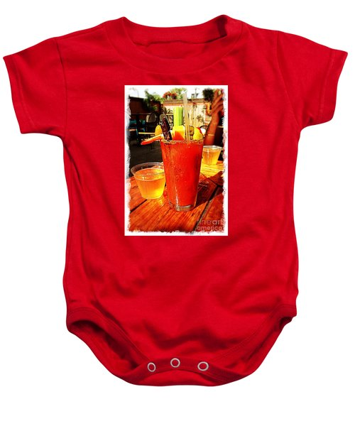 Morning Bloody Baby Onesie by Perry Webster