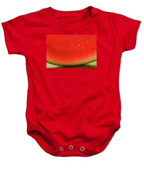 Slice Of Watermelon (detail) Baby Onesie