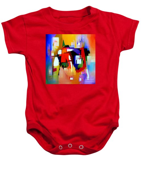 Abstract Series Iv Baby Onesie