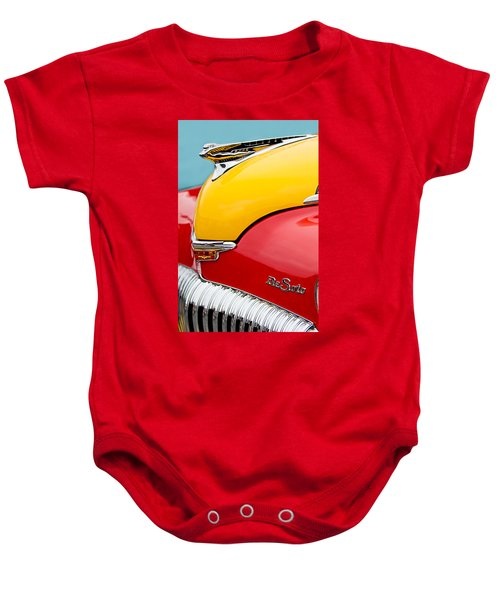 1946 Desoto Skyview Taxi Cab Hood Ornament Baby Onesie