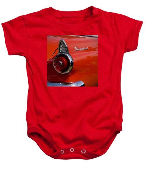 1955 427 Thunderbird Tail Light Baby Onesie