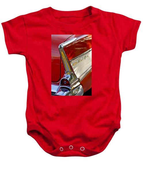 1957 Chevrolet Belair Taillight Baby Onesie