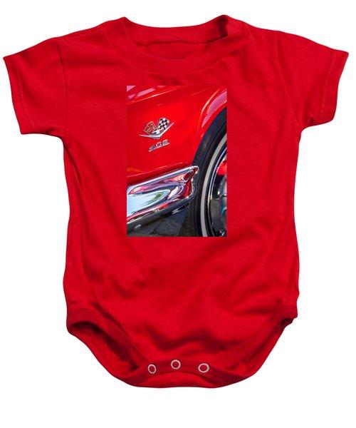 1962 Chevrolet Impala Ss 409 Emblem Baby Onesie