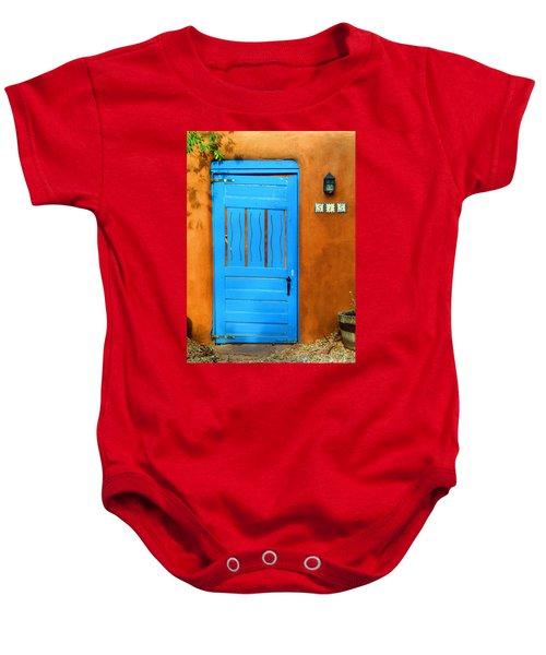 Blue Door In Santa Fe Baby Onesie