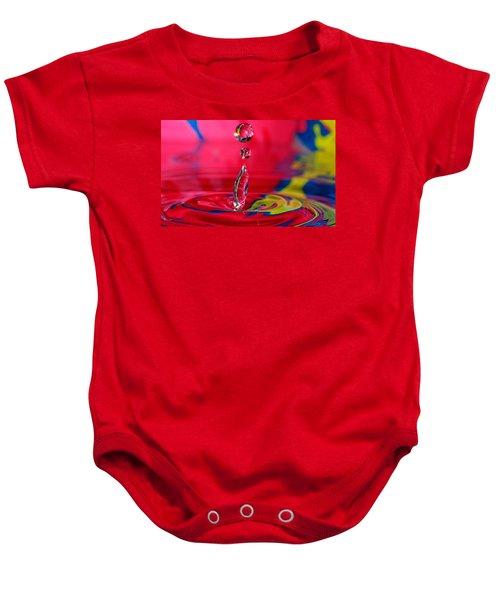 Colorful Water Drop Baby Onesie