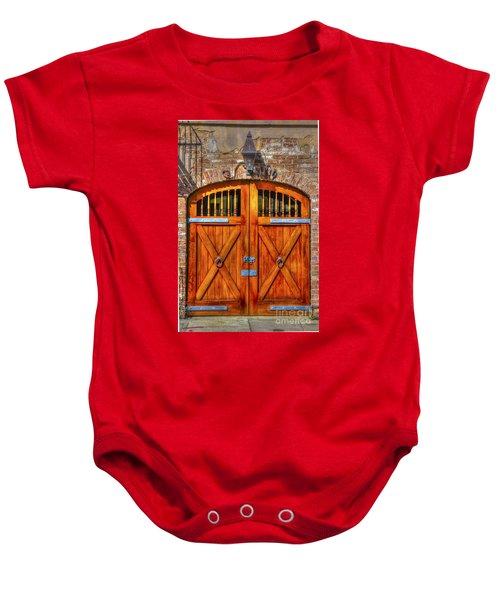 Doors Of Charleston Baby Onesie
