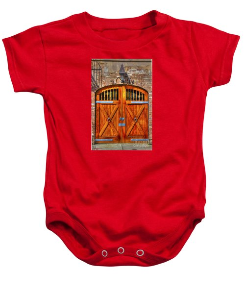 Doors Of Charleston Baby Onesie