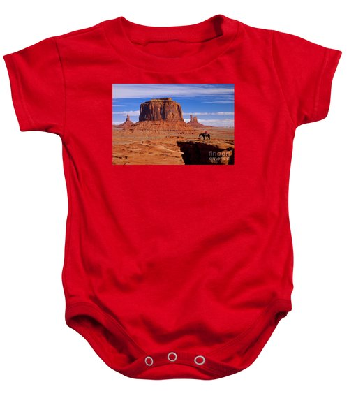 John Ford Point Monument Valley Baby Onesie