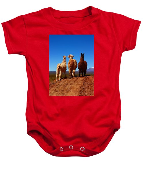 3 Amigos Baby Onesie by FireFlux Studios