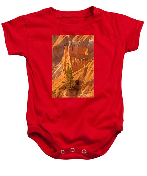Sunrise At Sunset Point Bryce Canyon National Park Baby Onesie